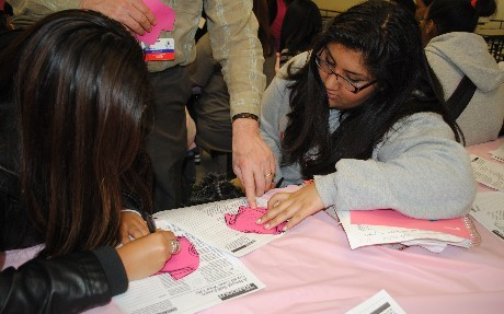 Breast Cancer Awearness Activity 2, 2012 001.JPG