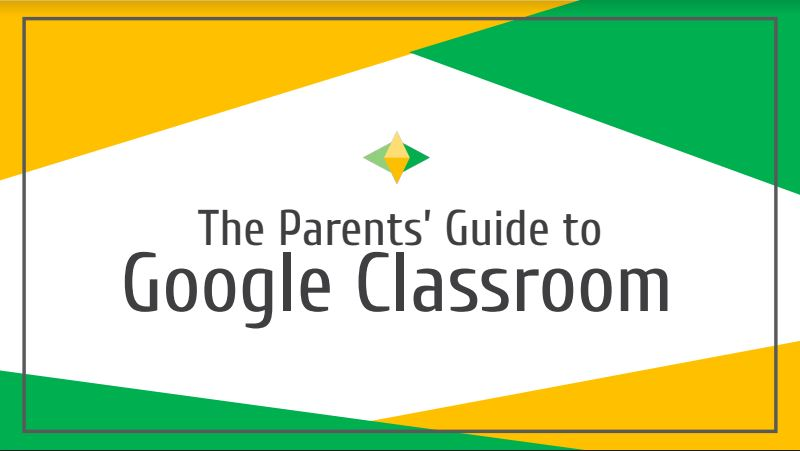 Image for Parents  Guide to Google Classroom