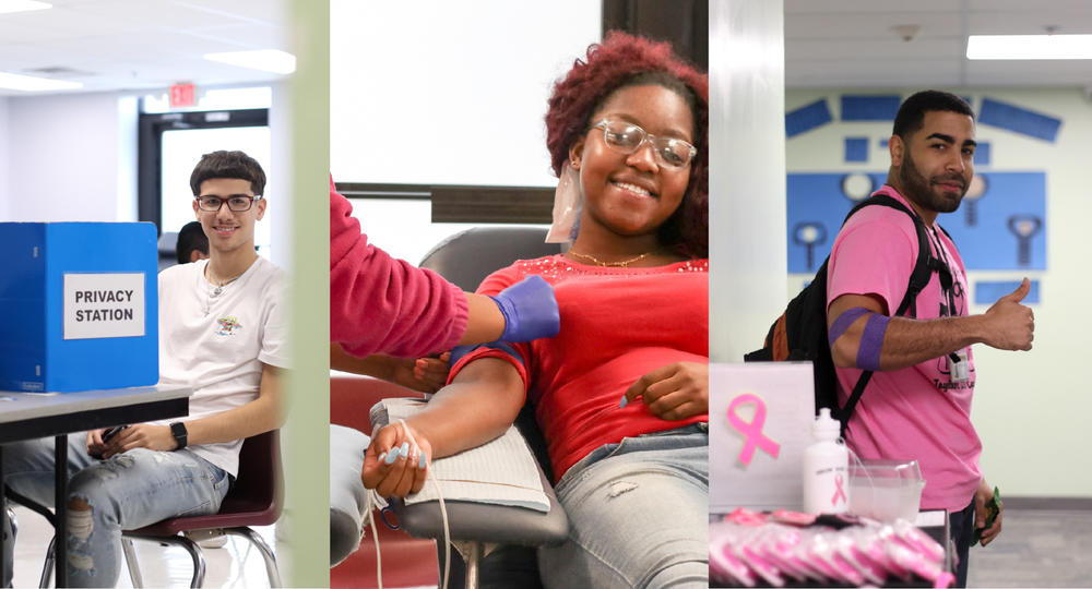 HARP students and staff donate blood to save lives