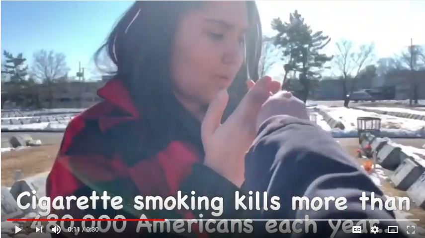HOSA PSA to inform of the dangers of cigarette smoking